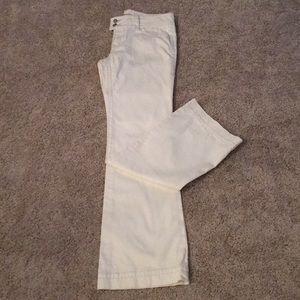 CAbi white jeans 343L